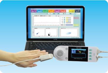 見積歓迎 自律神経(ストレス)分析 加速度脈波測定器 TAS9 VIEW RW(令和モデル) パルスアナライザープラスビュー < RW >